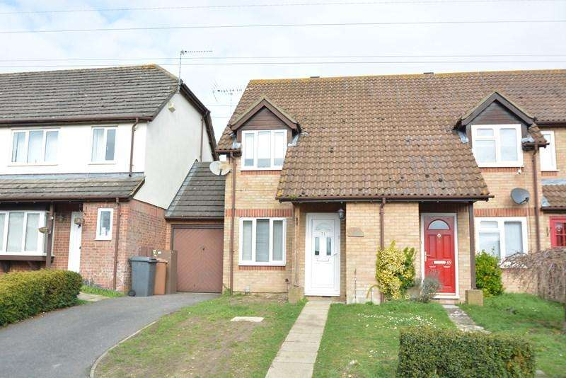 2 Bedrooms End Of Terrace House for sale in Swallowfields, Andover