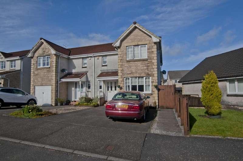 3 Bedrooms Semi Detached House for sale in 25 Woodlea Gardens, Bonnybridge, FK4 1DF, UK