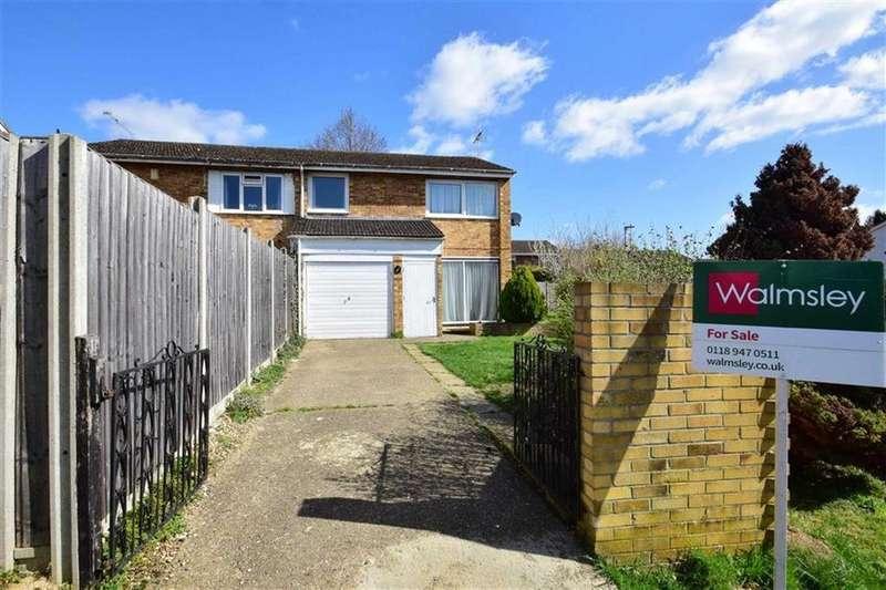 3 Bedrooms Semi Detached House for sale in Gayhurst Close, Caversham Park Village, Reading