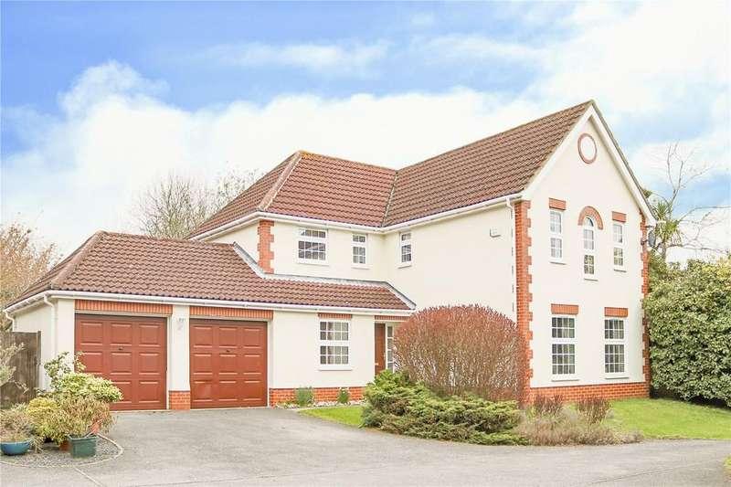 4 Bedrooms Detached House for sale in Goughs Lane, Bracknell, Berkshire, RG12