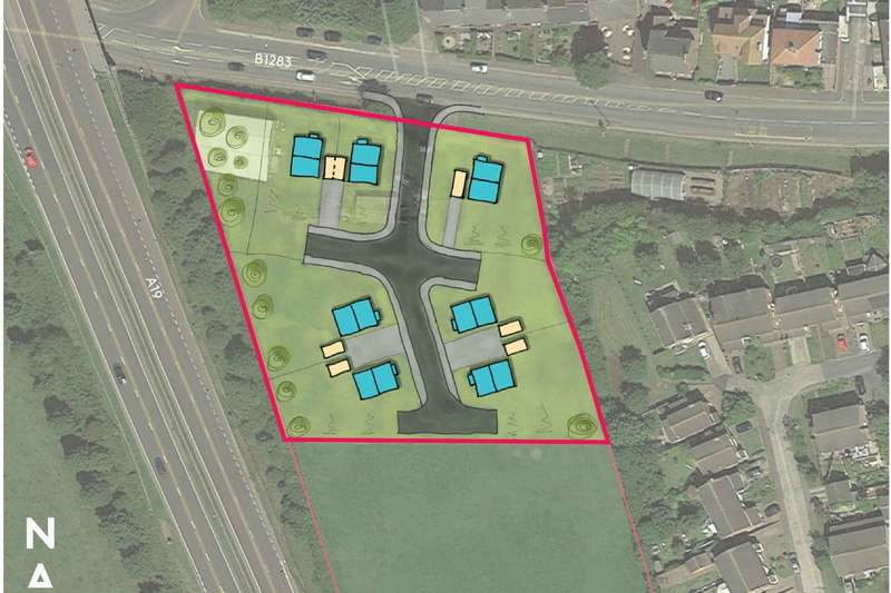 Land Commercial for sale in Land At South Side Of Hall Walks, Easington