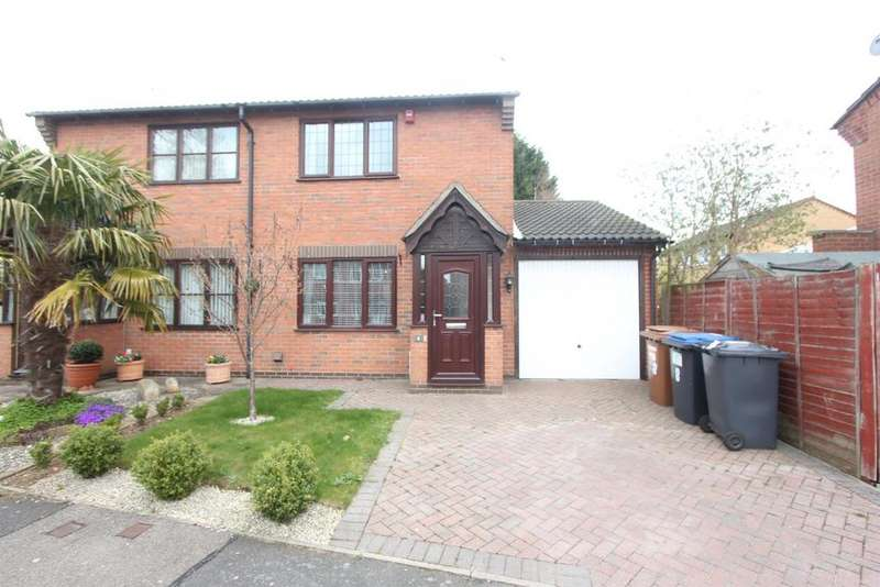 2 Bedrooms Semi Detached House for sale in Laxford Close, Hinckley