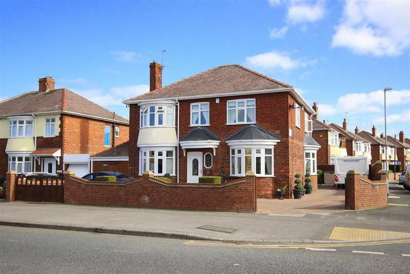 4 Bedrooms Detached House for sale in Neasham Road, Darlington