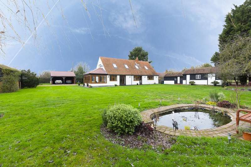 4 Bedrooms Detached House for sale in Nether Street, Abbess Roding, CM5