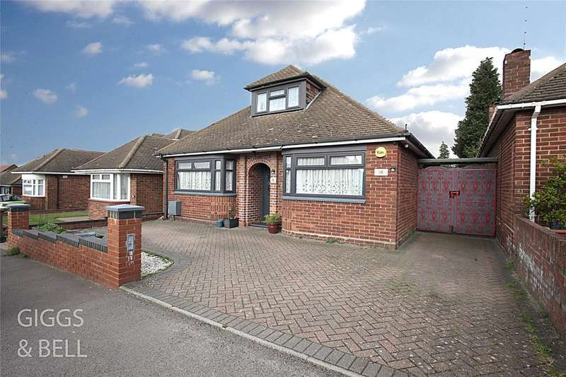 3 Bedrooms Detached Bungalow for sale in Granby Road, Luton, Bedfordshire, LU4