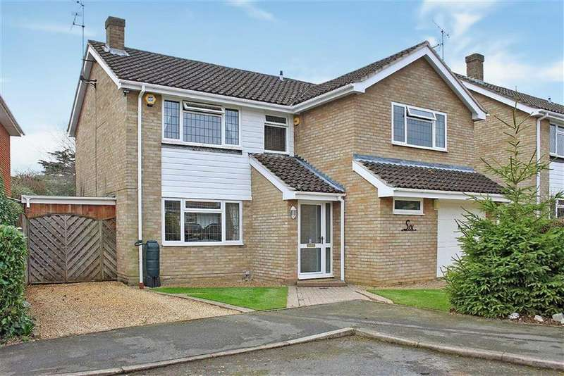 4 Bedrooms Detached House for sale in Warwick Close, Maidenhead, Berkshire