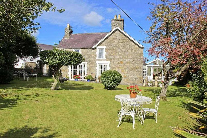 7 Bedrooms Detached House for sale in Rhianfa Farmhouse, Benllech, North Wales