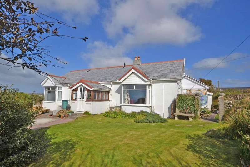 5 Bedrooms Detached Bungalow for sale in Sunny Corner Lane, Sennen, Nr. Land's End, West Cornwall