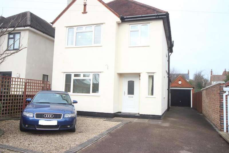 3 Bedrooms Detached House for sale in Springfield Road, Hinckley