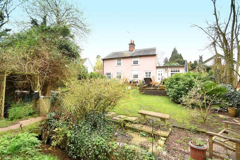 4 Bedrooms Detached House for sale in Pin Mill Road, Chelmondiston, Ipswich, IP9 1JF
