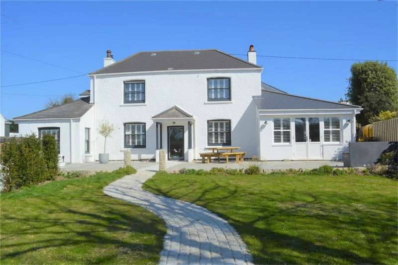 4 Bedrooms Detached House for sale in Mylor Bridge, FALMOUTH, Cornwall