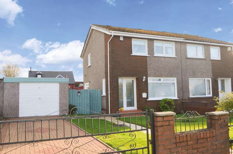 3 Bedrooms Semi Detached House for sale in Third Avenue, Alexandria, West Dunbartonshire, G83 9BJ