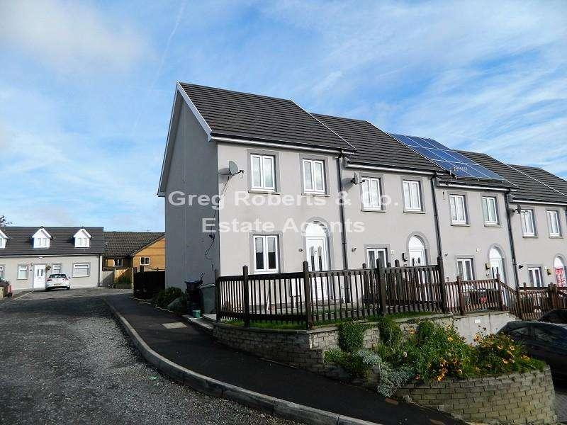 3 Bedrooms End Of Terrace House for sale in Prince Llewellyn Court, Tredegar, Blaenau Gwent. NP22 3RG