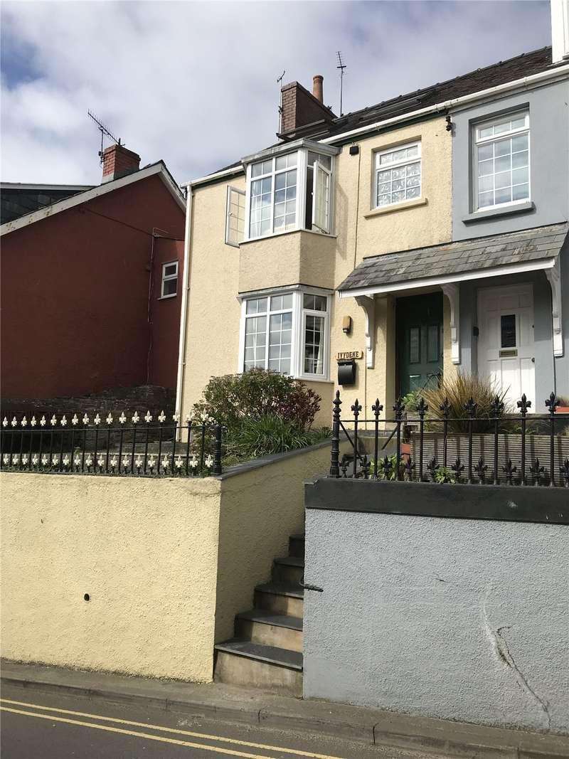 3 Bedrooms End Of Terrace House for sale in Ivydene, Wogan Terrace, Saundersfoot, Pembrokeshire