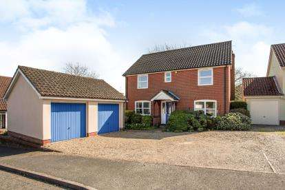 4 Bedrooms Detached House for sale in Bramfield, Halesworth, Suffolk