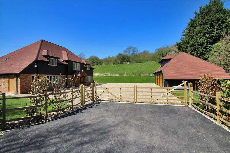 5 Bedrooms Detached House for sale in Lynsore Bottom, Upper Hardres, Canterbury, Kent, CT4