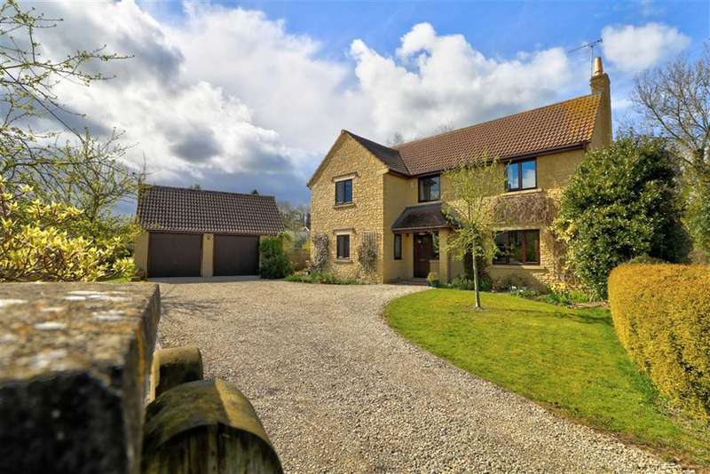 5 Bedrooms Detached House for sale in Flowermead, The Street, Lea, Nr Malmesbury