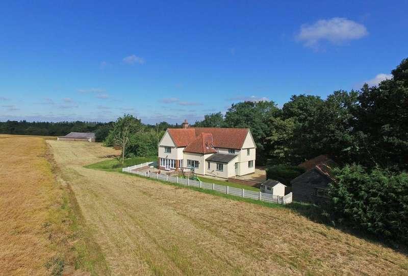 5 Bedrooms Detached House for sale in Winston, Nr Debenham, Suffolk