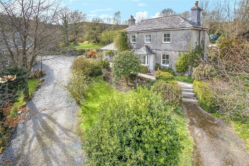 4 Bedrooms Detached House for sale in North Hill, Launceston, Cornwall