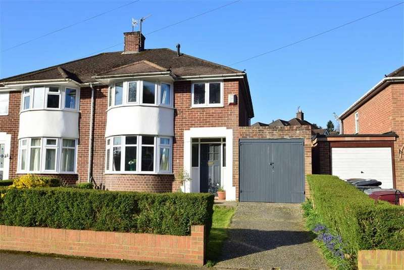 3 Bedrooms Semi Detached House for sale in Hemdean Road, Caversham, Reading