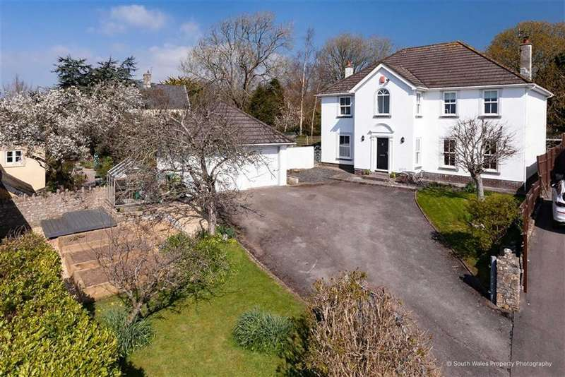 5 Bedrooms Detached House for sale in Malefant Grange, Llanmaes, Vale Of Glamorgan