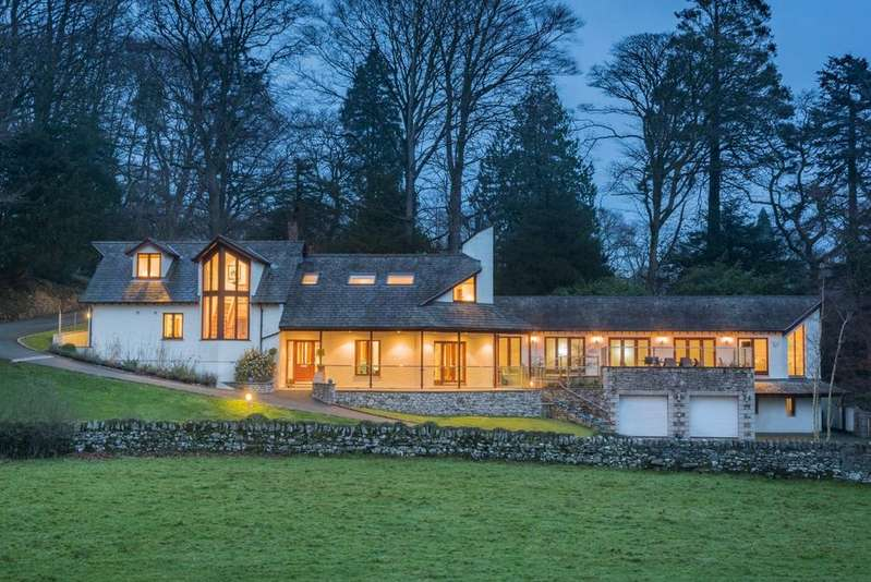4 Bedrooms Detached House for sale in The Walled Garden, Hampsfield House, Windermere Road, Grange-over-Sands, LA11 6JX