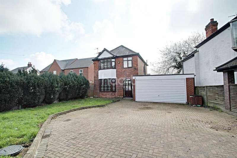 3 Bedrooms Detached House for sale in Queniborough, Leicester