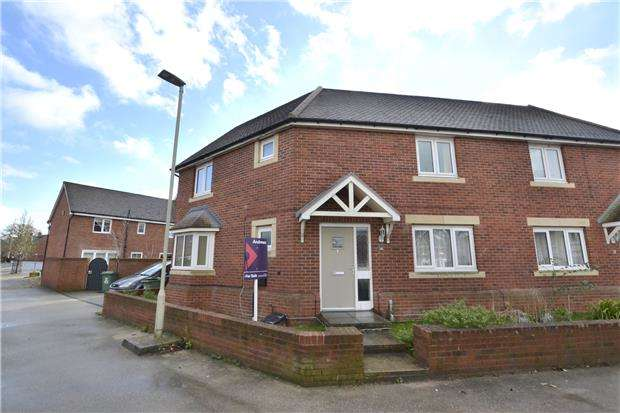 3 Bedrooms Semi Detached House for sale in Cosford Close Kingsway, Quedgeley, GLOUCESTER, GL2 2BQ