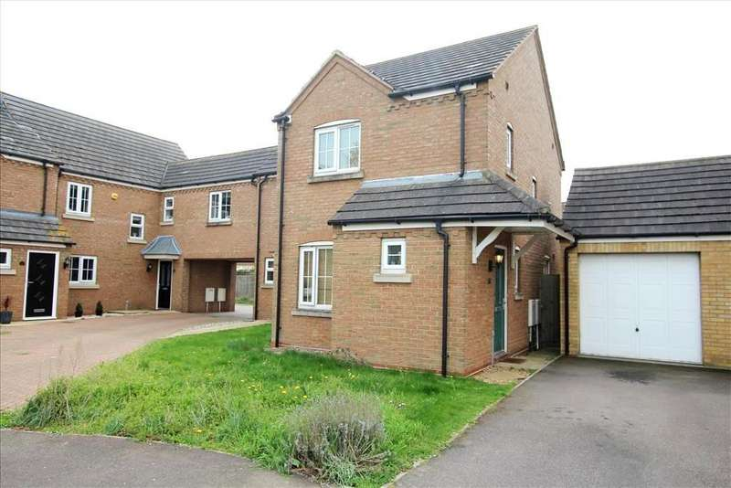 2 Bedrooms End Of Terrace House for sale in Goldfinch Drive, Sandy, SG19