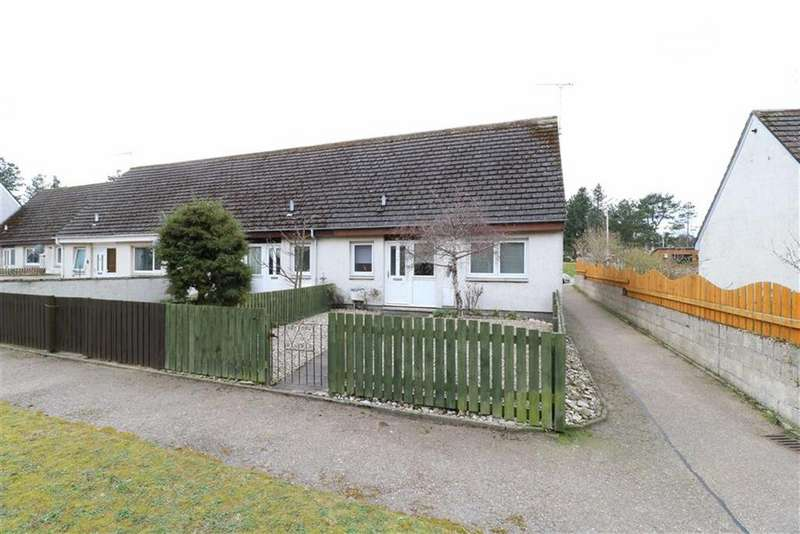 2 Bedrooms Semi Detached House for sale in Woodland Walk, Lossiemouth