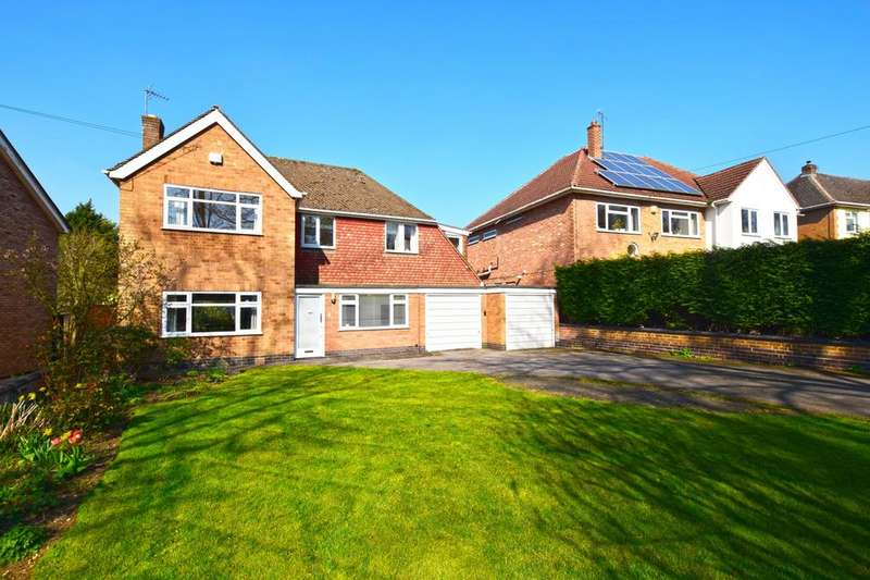 4 Bedrooms Detached House for sale in The Fairway, OADBY, Leicester, Leicestershire, LE2
