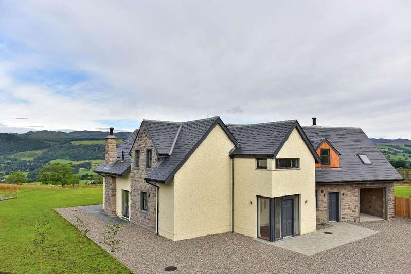 4 Bedrooms Detached House for sale in The Aultmore, Pitilie View, Aberfeldy