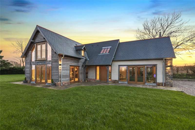 3 Bedrooms Detached House for sale in Sunny Hill, Llangwm, Haverfordwest, Pembrokeshire