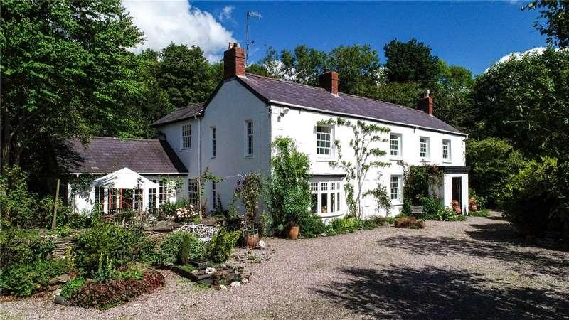 6 Bedrooms Detached House for sale in Waunllan, Llandyfriog, Newcastle Emlyn