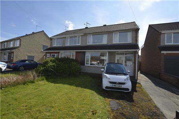 3 Bedrooms Semi Detached House for sale in Barton Close, Winterbourne, BRISTOL, BS36 1DY