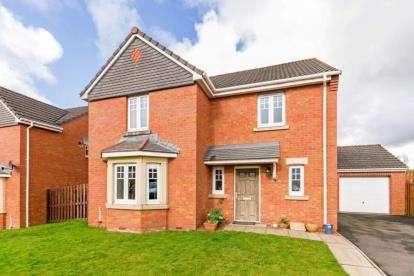 4 Bedrooms Detached House for sale in Thetford Grove, Glenboig, Coatbridge, North Lanarkshire
