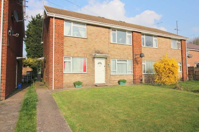 2 Bedrooms Maisonette Flat for sale in Canterbury Close, Luton, Bedfordshire, LU3 2QY