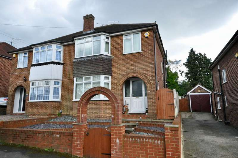 3 Bedrooms Semi Detached House for sale in London Road, Earley, Reading, RG6 1AR