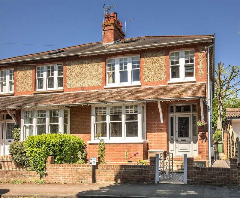 4 Bedrooms Semi Detached House for sale in 22 Wordsworth Road, Harpenden, Hertfordshire, AL5