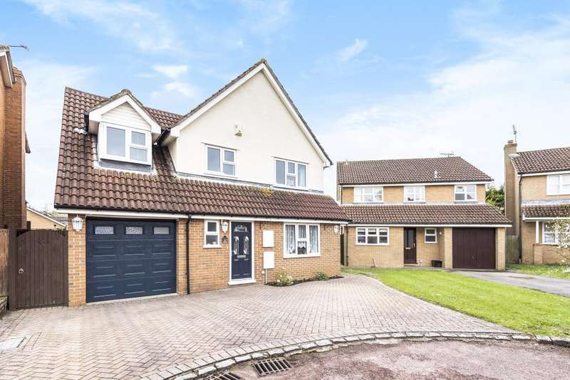 4 Bedrooms Detached House for sale in Tinsley Close, Lower Earley, RG6