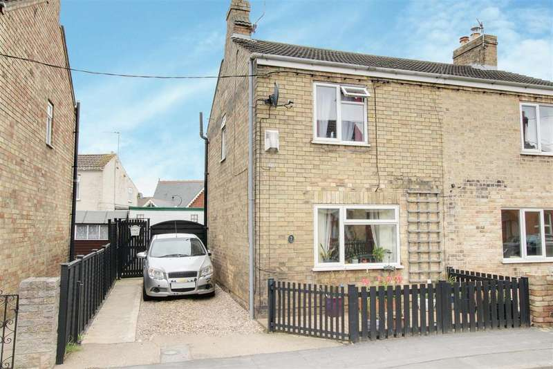 2 Bedrooms Semi Detached House for sale in Hamilton Road ., Alford