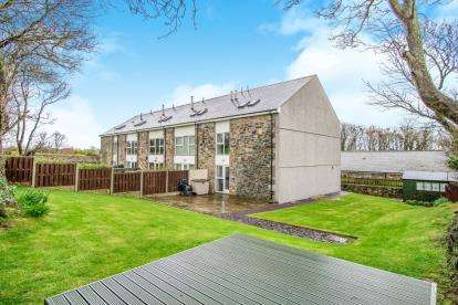 4 Bedrooms End Of Terrace House for sale in Stad Clynnog, Dwyran, Anglesey, Sir Ynys Mon, LL61