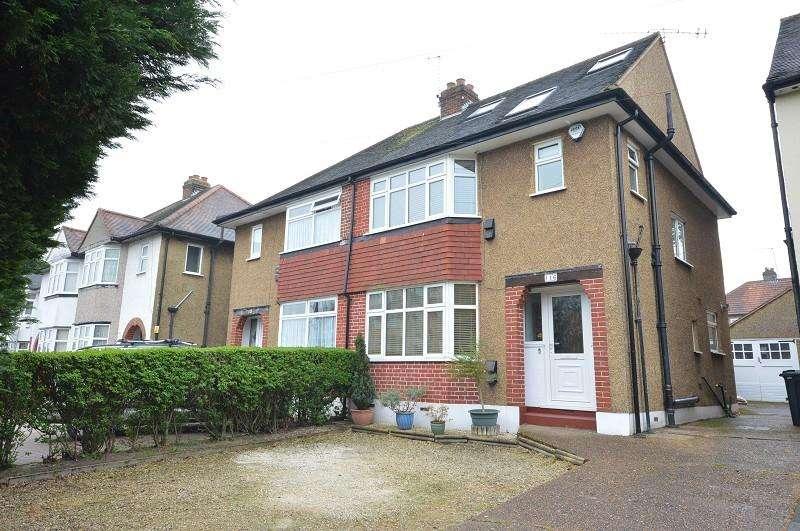 4 Bedrooms Semi Detached House for sale in Bridge Road, Chessington, Surrey. KT9 2EX
