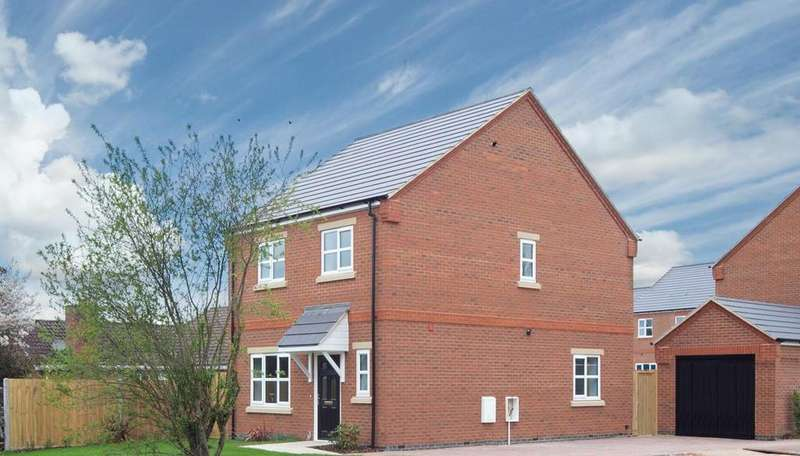 3 Bedrooms Detached House for sale in Harlington Chase, Westoning Road, Harlington.