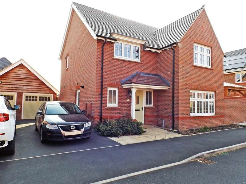 4 Bedrooms Detached House for sale in Bovinger Road, Leicester, Leicester, LE5