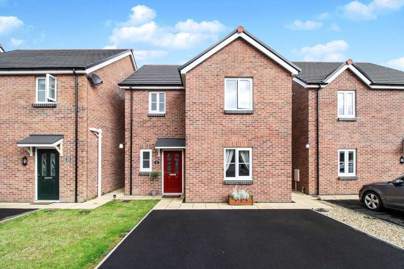 3 Bedrooms Detached House for sale in Tadia Way, Caerleon, Newport, NP18
