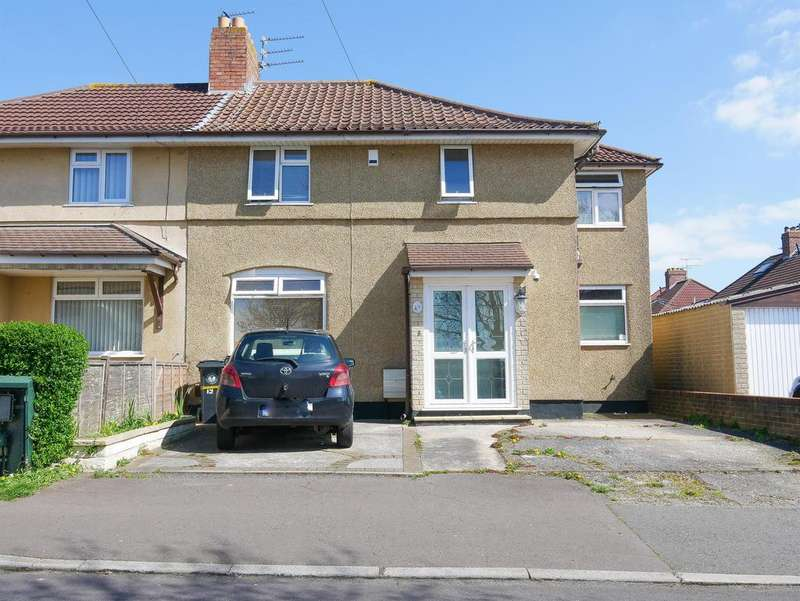 3 Bedrooms Semi Detached House for sale in Wellgarth Road, Knowle, Bristol, BS4 2SZ