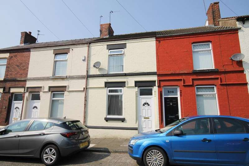 2 Bedrooms Terraced House for sale in Castle Street, Widnes, WA8