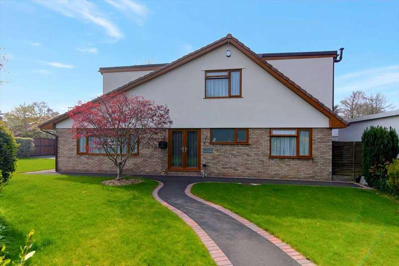 6 Bedrooms Detached House for sale in Hill Drive, Failand, Bristol