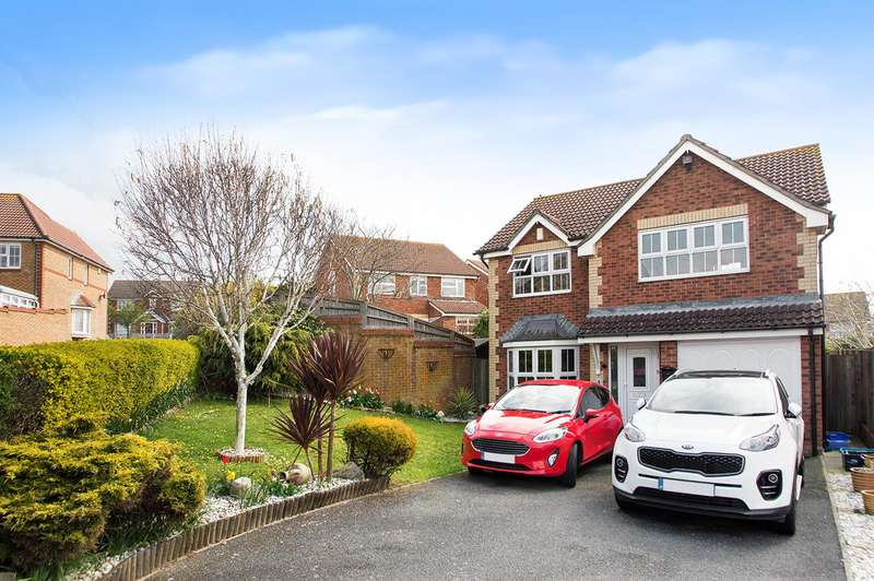 4 Bedrooms Detached House for sale in Rother Avenue, Stone Cross, Pevensey